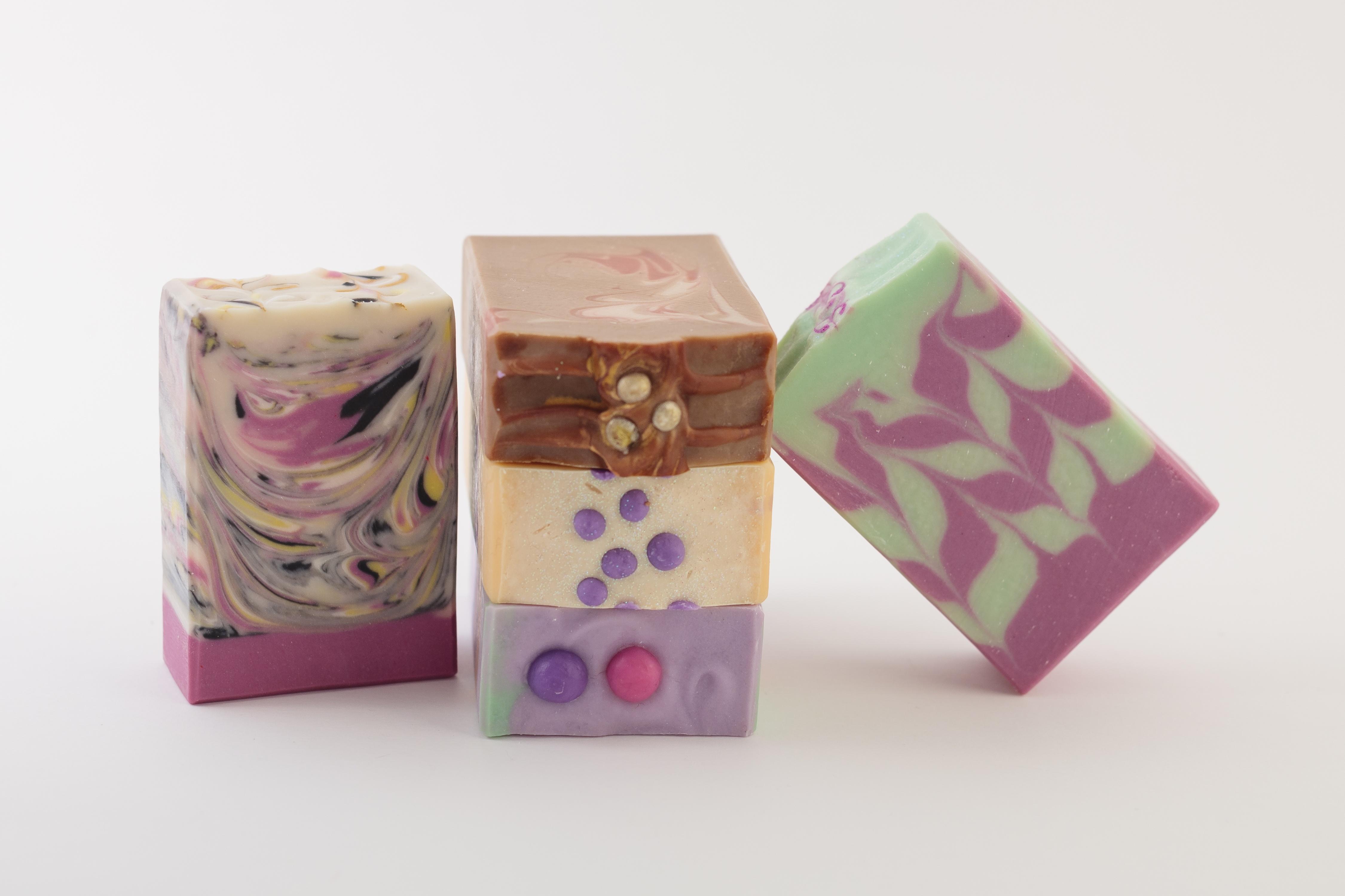 Gamme de savons saponifiés à froid - édition limitée
