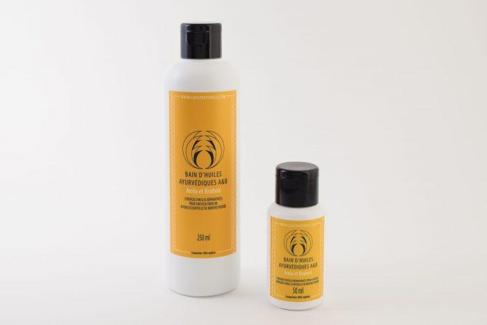 Bain d'huiles Ayurvédiques A&B Amla & Brahmi