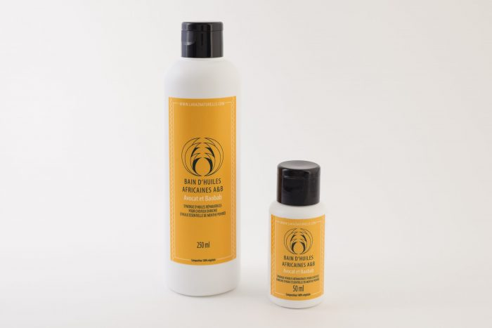 Shampoing crème Bain d'huiles Africaines 2 formats