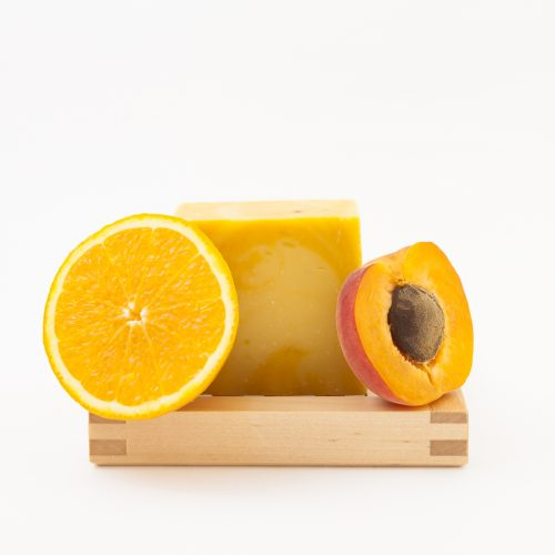 savon orange et abricot