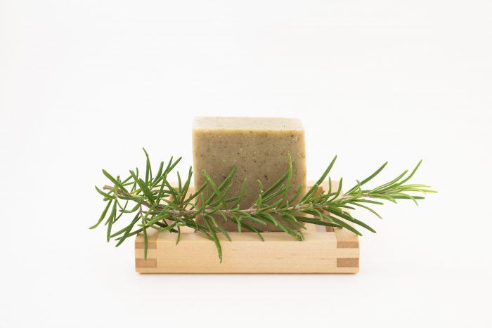 savon shampoing romarin